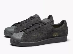 97e2129a8025 Adidas Superstar 80s Clean Men s Classic Retro Shoes BZ0566 Black ...