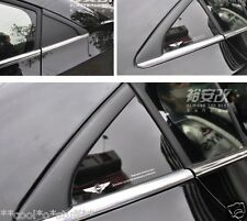 164- CZR Cruze Chevrolet Black Mirror Finish Rear Window Triangle Stickon Panel