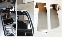 Corvette C5 Ls1 Polished Stainless 2 Pc Fender Covers (inner) Engine Chrome