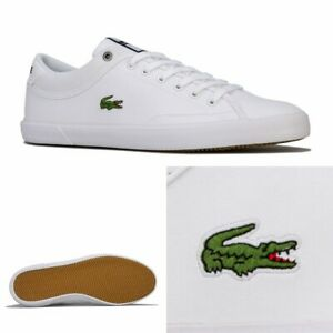 Mens-Lacoste-Angha-418-Trainers-In-White