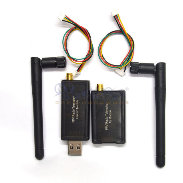3DR Radio Telemetry Kit 433Mhz Ground & Air Module Open source for APM2.5 2.6