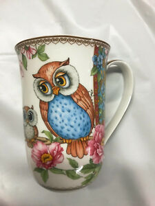 New-Owls-405cc-Mug-Tea-Coffee-Cup-Fine-Bone-China-Birthday-Xmas-Gift