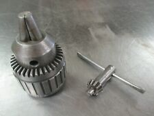 Used Jacobs 14n Ball Bearing Drill Chuck Withkey