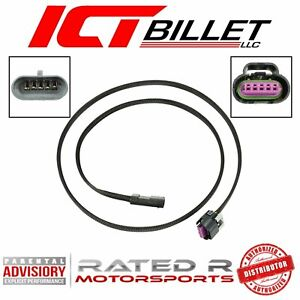 ICT Billet 48 inch Wire Extension Harness LS Gen 4 MAF Mass Air Flow Intake Air IAT Sensor Truck Cartridge Card Style Wiring Compatible with GM RPO codes 5.3 6.2 L98 L9H L96 LC8 LC9 WEMAF41-48
