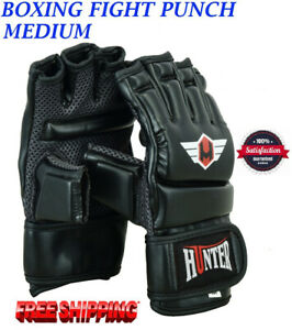 Boxing-MMA-Gloves-Grappling-Punching-Bag-Training-Kickboxing-Fight-Sparring-UFC