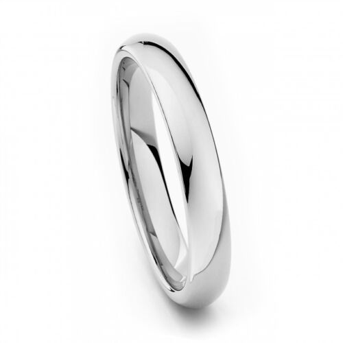Comfort Fit .925 Sterling Silver Plain Wedding Band Ring All sizes + FREE BOX.