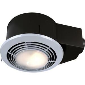 Ceiling Bathroom Exhaust Fan Light Heater Durable Weather ...