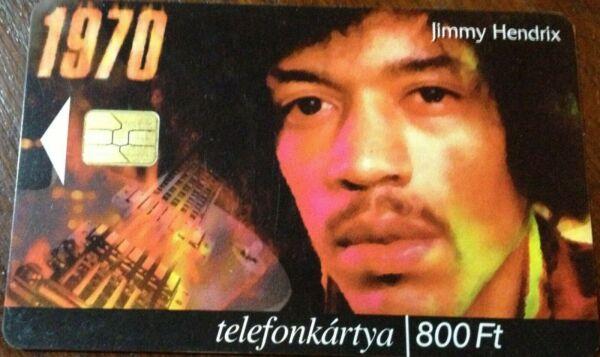 Confiant Télécarte, Phonecard Hongrie,hungarian Jimmy Hendrix 200 000 Exemplaires Nice! Ture 100% Garantie
