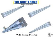 2 Car Garage LED Motion Sensor Lighting Kit - 4 Fixtures on occupancy sensor DIY