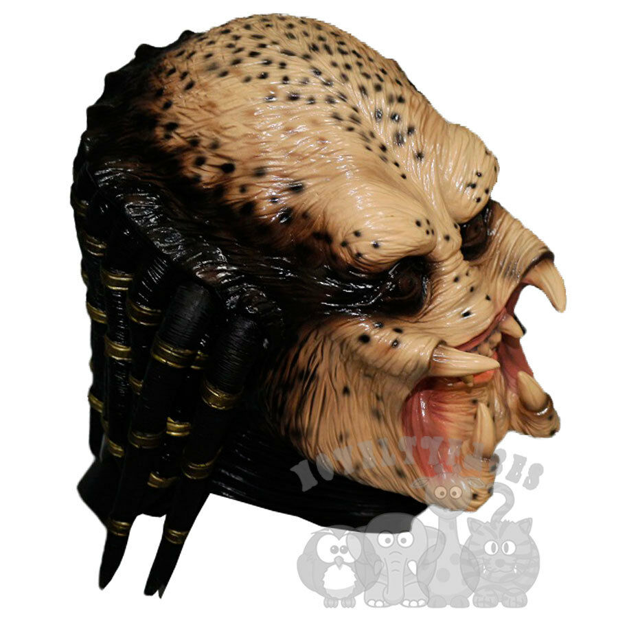 Halloween Famous Movie Character Alien Hunter Predator Latex Party Props Mask