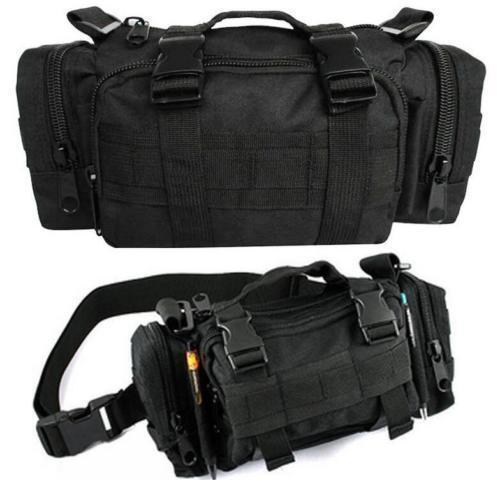 Tactical Waist Pack Portable Fanny Pack Outdoor Hiking Travel Large Waist Bag