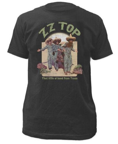 ZZ Top-el loco envejecido Camiseta-totalmente Nuevo