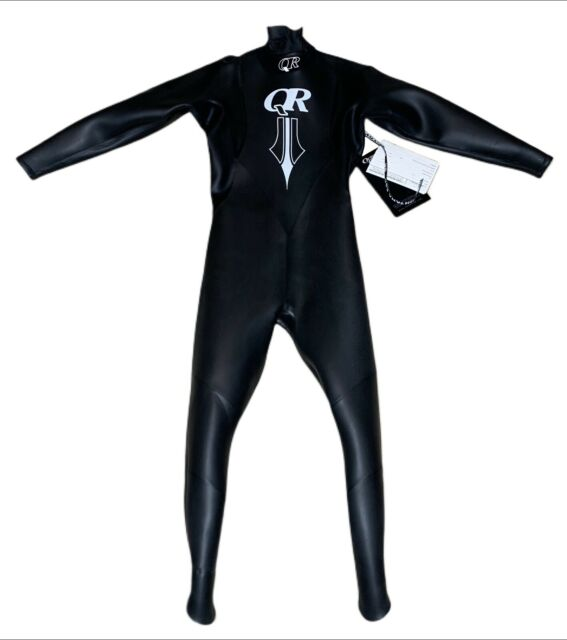 Size MS Quintana Roo Men/'s Ultrafull Wetsuit in Black with Silver Emblem