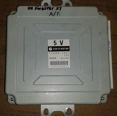 2004 SUBARU Forester XT ECU ENGINE COMPUTER MODULE AT 2.5L TURBO P/N 22611AH700