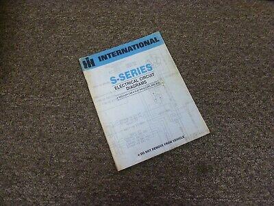 1980 International 2574 2575 2674 Truck Electrical Wiring ...
