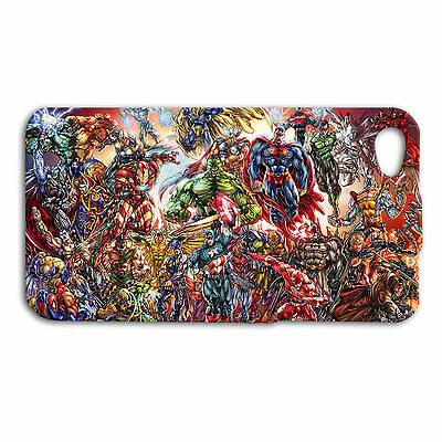 Marvel Comic Character Collage Cool Case iPhone Cover Hot iPod Super Hero Cute