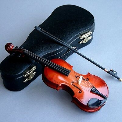 Imitate Mini Wooden Violin MSD DOD AOD LUTS 1/4 BJD Doll Accessory-Not For Adult