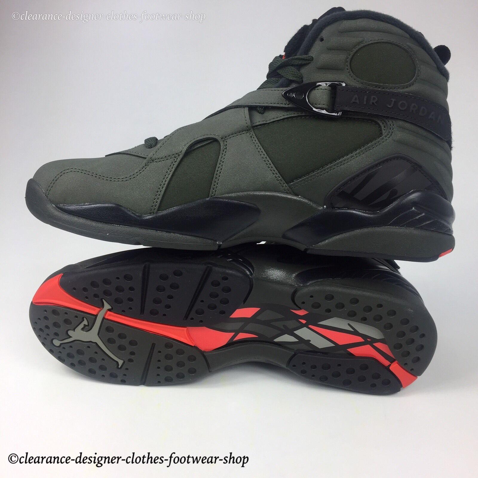3750488fcdfc Nike Air Jordan 8 Retro VIII Take Flight Undefeated Sequoia Men Aj8  305381-305 UK 10 for sale online