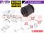 FOR NISSAN X-TRAIL T30 REAR AXLE SUSPENSION ARM BUSH TRACK CONTROL TIE ROD 01-07