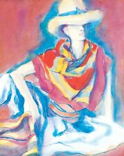 """Dufex Foil Picture Print - Minetta by Yoshimi - size 21"""" x 17"""" Large Print"""