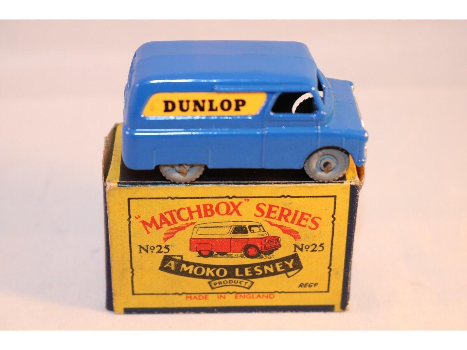Matchbox lesney 25 bedford  dunlop  99,9% minze im kasten alle original - super gmw