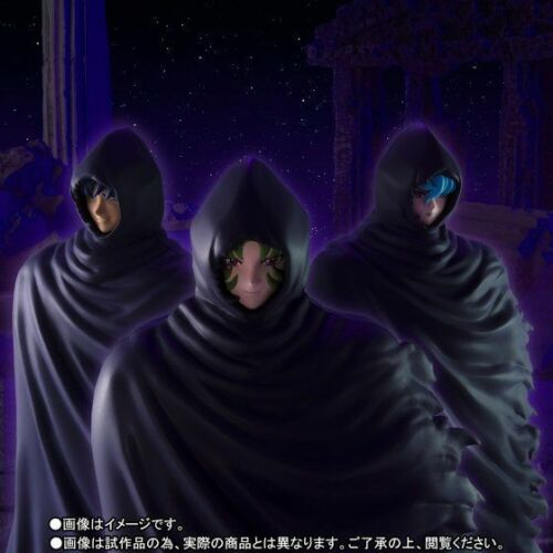 BANDAI PREMIUM SAINT SEIYA CLOTH MYTH EX MYSTERIOUS SURPLICE 3 SET FIGURE