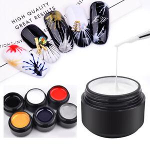 Nail Art UV Gel Drawing Elastic Line Painting Gel Varnish Silk ...