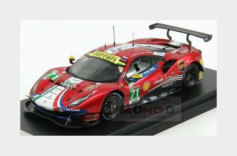 Ferrari 488 Gte Evo 3.9L Turbo V8  71 Le Mans 2018 Rigon LOOKSMART 1 43 LSLM084