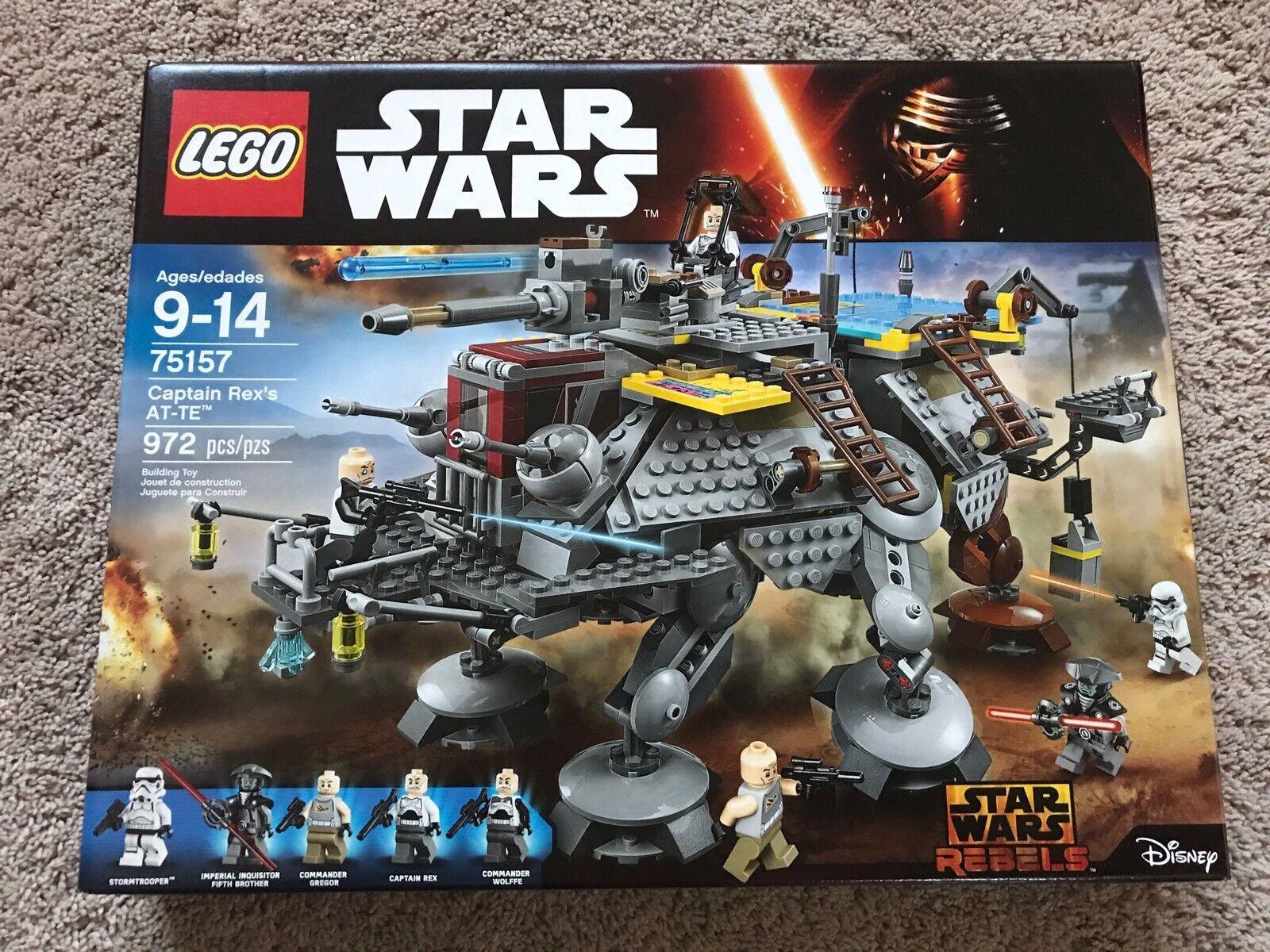 nuovo, SEALED  LEGO estrella guerras Captain  Rex's at-te - 75157 972 pieces Fast Shipping  ecco l'ultimo