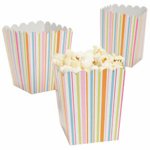 Pack-of-12-Multi-Coloured-Stripey-Popcorn-Boxes-Party-Box-Favors