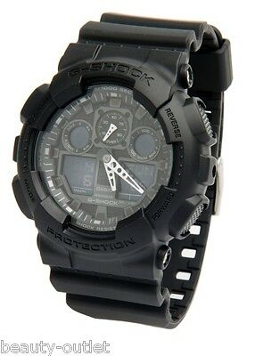 CASIO G-Shock GA100 1A1 BRAND NEW 100% Original G Shock Men's Watch GA-100-1A1