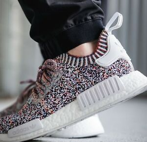 ad6431d93 Adidas NMD R1 PK Multicolor Static BW1126 Size 11 Rainbow Boost ...