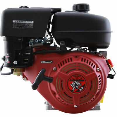 New 9hp 6 1 Gear Reduction Gas Engine Cement Mixer Side