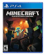 Minecraft: PlayStation 4 Edition [PlayStation 4 PS4, Sandbox World Building] NEW