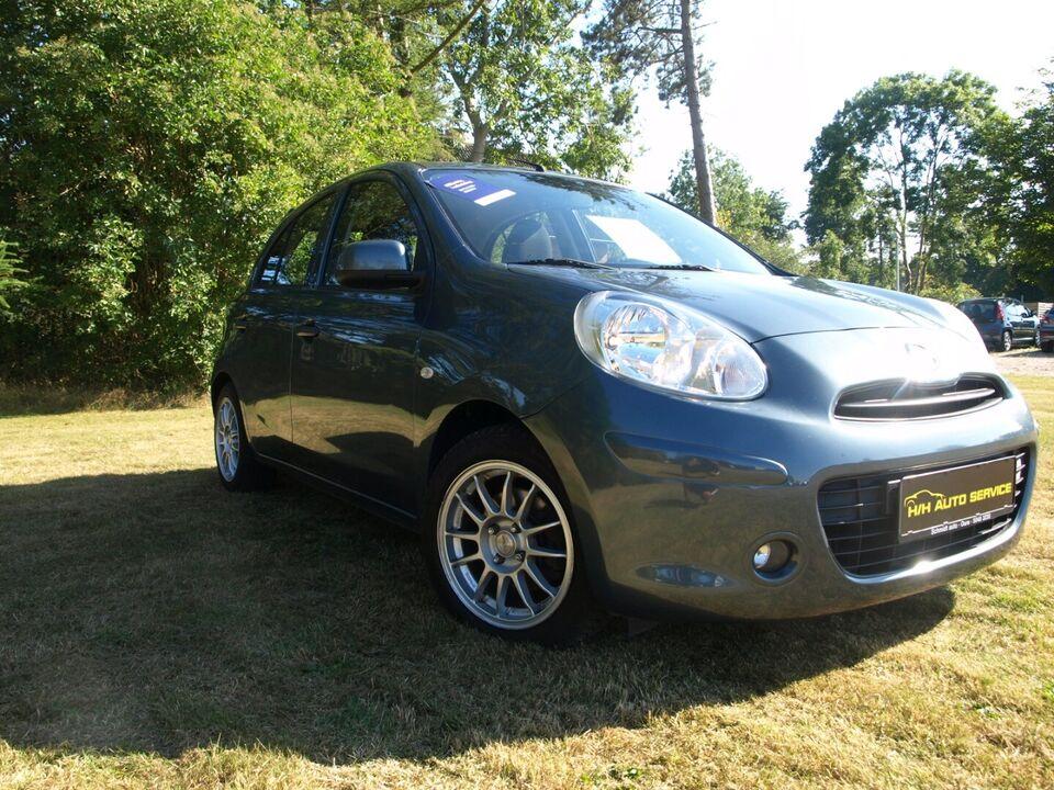Nissan Micra 1,2 Tekna Benzin modelår 2011 km 140000