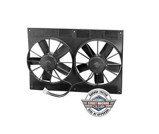 Spal 30102052 11 U0026quot  Dual Paddle Blade High Performance Fan