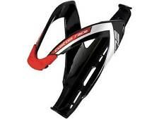 Elite Custom Race Black / Red Bike Water Bottle Cage