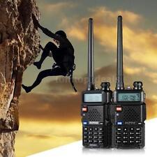 BAOFENG UV-5R Handheld Two-way Ham Radio Interphone Walkie Talkie Key Lock X1N3
