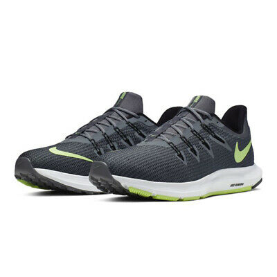 pila Posteridad vía  Nike Quest 2 Running Shoes Gray Green Black AA7403-007 Men's NEW | eBay