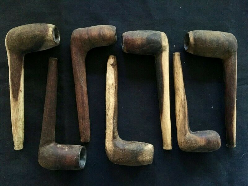 Pipes - Hand Carved Xhosa Smoking Pipes
