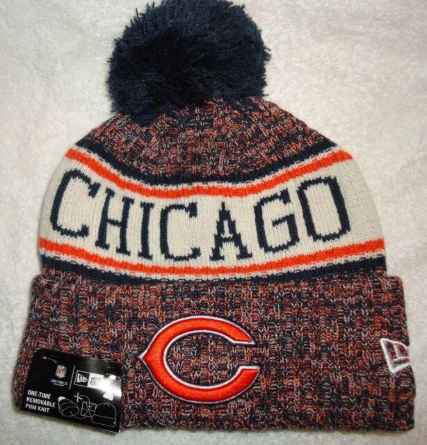 CHICAGO BEARS NFL AUTHENTIC NEW ERA 2018 ON FIELD SPORT KNIT HAT NEW WITH  TAGS 8c4aaa054b7b
