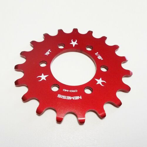 "FOR DISC HUB CHROME NEMESIS 20T FIXED GEAR COG 1//8/"" FIXIE"