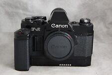 Unusual Canon F-A Special Use Camera Body w/ Motor Drive MZ