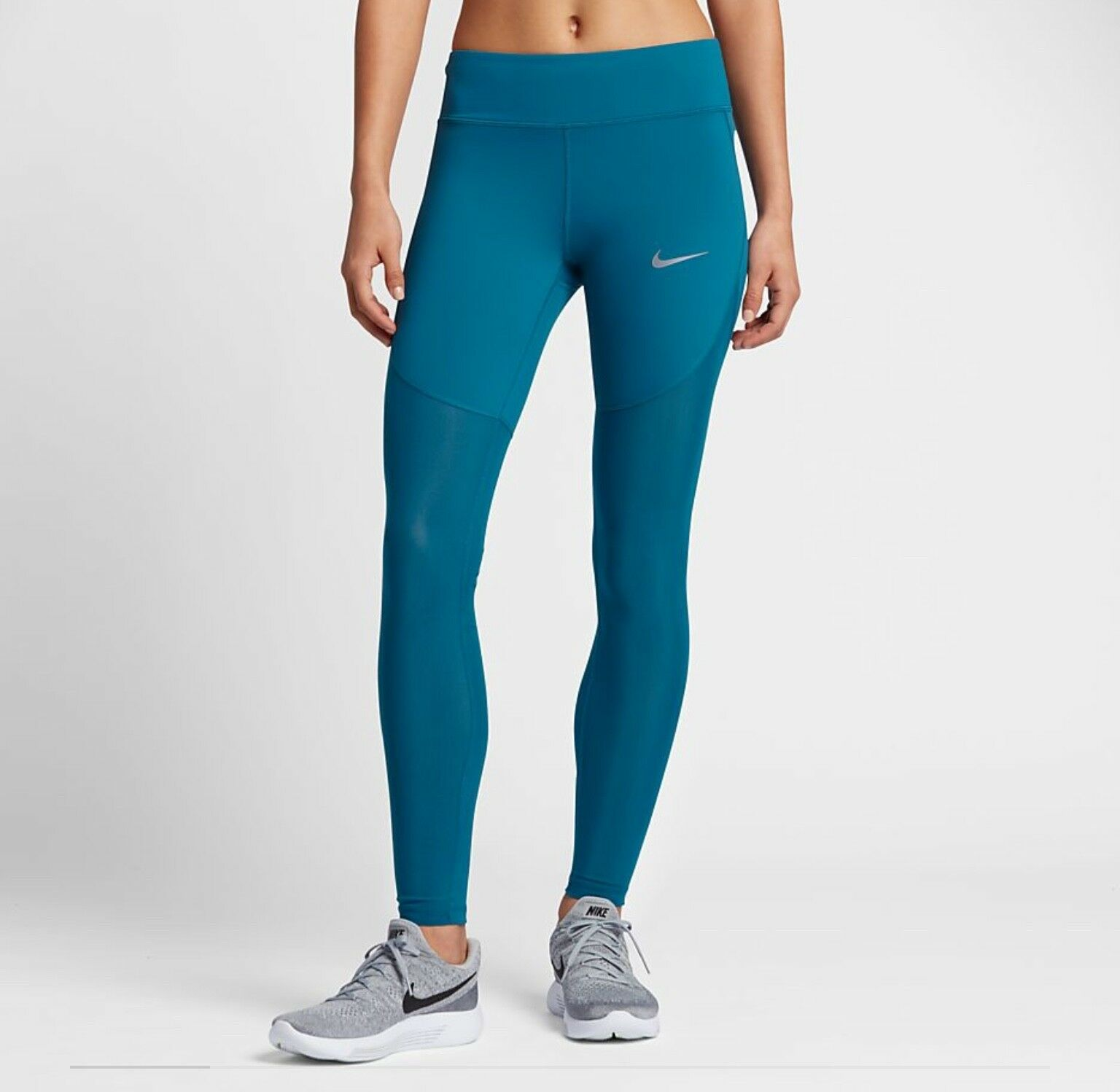 NIKE EPIC LUX WOMEN'S RUNNING TIGHTS LEGGING GYM TRAINING 905678-457 Xtra Small