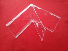 10 Double CD Maxi Jewel Case 10.4mm Spine Standard for 2 CDs with Clear Tray New