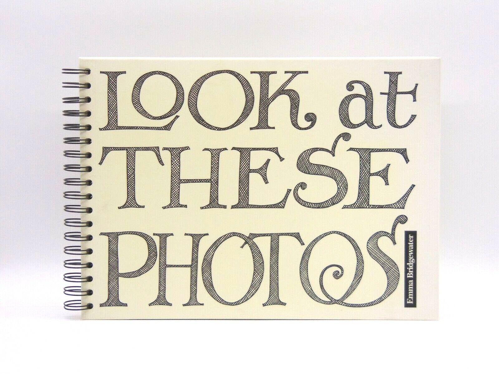 Emma Bridgewater 'Look At These Photos' Family Photo Album, New, Unused (AP139Z)