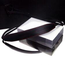Gariz Black Leather Neck Strap XA-CHLSS2 Sony NEX Olympus Fuji Canon Lumix Leica