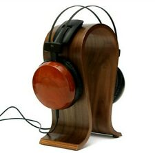 Wooden U-shape Display Stand Hanger Holder Rack for Headset Earphone Headphone
