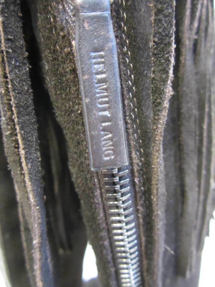HELMUT LANG Braun Braun Braun suede knee high Stiefel schuhe sz 40  10 c67ac6
