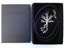 Final Fantasy VII Silver 925 Necklace Dirge of Cerberus Vincent Square Enix Rare